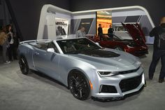 Topic: 2017 Chevrolet Camaro ZL1 convertible live photos: 2016 New York Auto Show | car fanatics