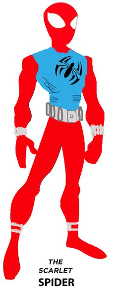 The Original Scarlet Spider by stick-man-11@deviantART