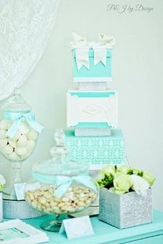 Party Inspirations: Tiffany Blue Engagement by roxanne