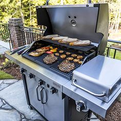 Char-Broil Signature TRU Infrared 4-Burner Cabinet Gas Grill | Gas Barbeque Reviews
