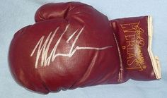 Mike Tyson Signed Vintage Jack Dempsey Everlast « Impulse Clothes