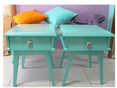 .Estilo Retrô Rock.: Desejo do Dia: móveis antigos e coloridos