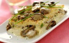 Πατάτες με μανιτάρια ογκρατέν - iCookGreek
