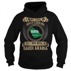 Live in North Carolina - Made in Saudi Arabia - Special #SaudiArabia
