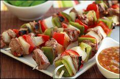 Asian Steak Kebabs