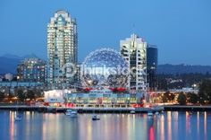 Stock Photo : Vancouver in Canada