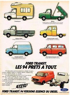 Classic Campers, Classic Trucks, Minibus, Peter Lee, Ford Transit Camper, Benne, Old Lorries, Car Brochure, Vintage Vans