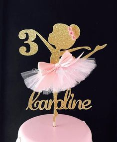 Ballerina Cake Topper - Ballerina Party Decorations - Ballerina Party Decor - Ballerina Party Centerpiece - Ballerina Birthday Party Cake USD USD available You save USD Ballerina Party Decorations, Ballerina Birthday Parties, Birthday Party Decorations, Birthday Celebration, Party Favors, Birthday Cake, Party Themes, Candy Party, Party Banner