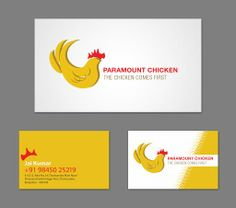 Task: Re-branding, Logo + Stationery; Client: Paramount Chicken