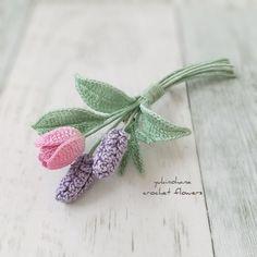 Crochet Brooch, Crochet Art, Irish Crochet, Crochet Flower Patterns, Crochet Flowers, Miniture Things, Applique, Monogram, Knitting