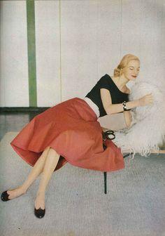 Fabulous 1950s style   Photo by Richard Rutledge 1951