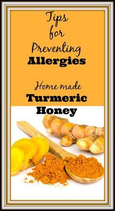 Turmeric honey tea to help with those pesky allergies. Using turmeric is one of the tips listed to help you suffer less with allergies http://livingawareness.com/10-tips-reducing-spring-allergies/