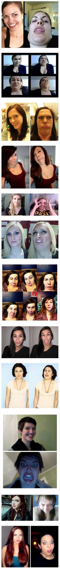 The Many Faces Of Women – 15 Pics