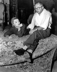 """""""Sabrina"""" Audrey Hepburn, Billy Wilder 1954, Paramoun"""