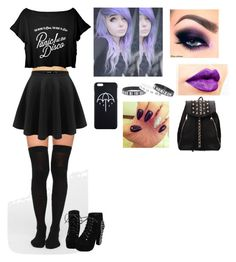 """Bored :/"" by iammrsclifford ❤ liked on Polyvore featuring NYX"