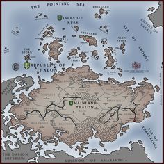 Free fantasy map generator goes open source httpsboingboing simple regional map thalon by levodoomiantart on deviantart gumiabroncs Image collections