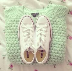 Nice Sweater and shoes combination