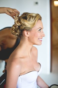 Wedding hair. Photography: Button Up Photography - www.buttonupmx.com