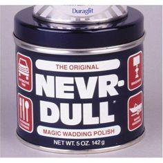 George Basch ND NeverDull Magic Wadding Polish 5 Oz  2 Pack *** Click affiliate link Amazon.com on image for more details.