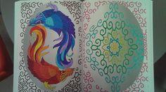 Mandala combat de coq by Charlie-Audern