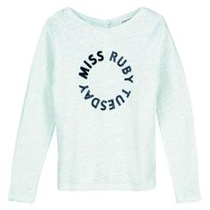 Miss Ruby Tuesday winter 2016 | Kixx Online kinderkleding babykleding www.kixx-online.nl Ruby Tuesdays, Pullover, Graphic Sweatshirt, Sweatshirts, Winter, Tops, Sweaters, Things To Sell, Fashion