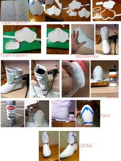 AsunaCosplayWIP(Shoes) by Julz1219.deviantart.com on @deviantART