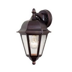 Cascadia Lighting Birchard 8-in W 1-Light Oiled Burnished Bronze Arm Hardwired Wall Sconce