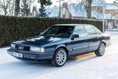 20V Turbo Five/5-Speed: 1990 Audi 200 Quattro http://bringatrailer.com/2017/03/02/20v-turbo-five5-speed-1990-audi-200-quattro/