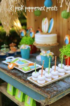 Disney Teen Beach Movie Party via Kara's Party Ideas Kara'sPartyIdeas.com #Surf #Party #TeenBeachMovie #Ideas #Supplies #Disney (13)