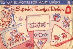 Superior 139 Vintage Transfer Design
