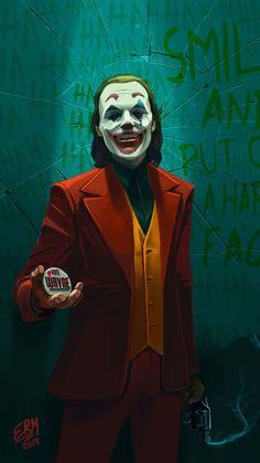 Gotham Joker, Joker Art, Joker And Harley Quinn, Batman Joker Wallpaper, Joker Wallpapers, Joker Images, Joker Pics, Dc Comics Art, Batman Comics