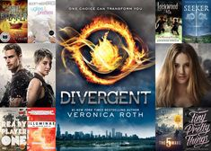 Wondering what Insurgent is all about? We made this cheat sheet to get you caught up on one of the big players in the teen sci-fi genre: the Divergent trilogy. Sci Fi Books, Ya Books, Allegiant, Insurgent, New Tork Times, Tris And Tobias, Sci Fi Genre, Divergent Trilogy, Ya Novels