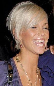 Sarah Harding's New Blonde Bob Haircut Short Sassy Hair, Short Hair Cuts, Short Hair Styles, Hairstyles Haircuts, Trendy Hairstyles, Celebrity Hairstyles, Love Hair, Great Hair, Sarah Harding Hair