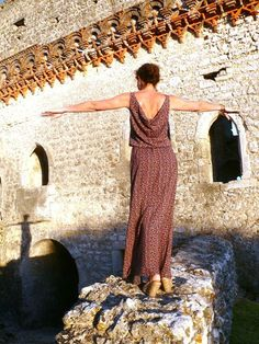Robe Mirage de Aime comme Marie avec dos bénitier (tuto inside)