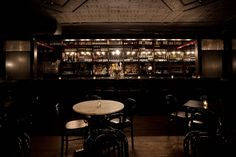 The Bedford.  My first neighborhood hang out in Brooklyn.  Beautiful space with wonderful food.