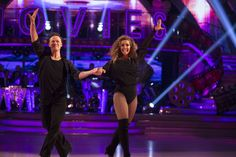 SCD week 3, 2016. Louise Rednapp & Kevin Clifton. Cha Cha Cha.Credit: BBC / Guy Levy