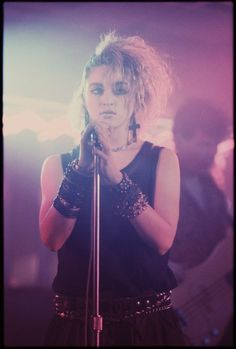 Madonna in the 80s  18 photos  Morably