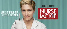 """i'm obsessed with nurse jackie. """"Please don't say hi every time you see me, okay? Once a week is plenty. In fact, if you go five days without saying hi, I will buy you a metro card."""""""