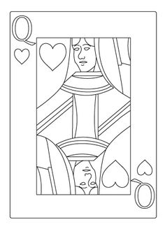 free coloring pages king of hearts | Queen Of Hearts Coloring Page | Coloring Kids | COLOR ...