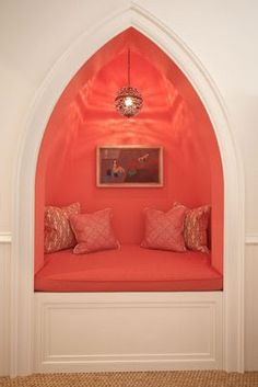 Chinoiserie Chic: A Peek of Coral