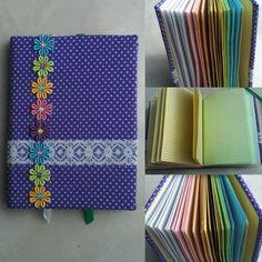 А вот и записная книжка.  Формат книжки А5, 120 цветных листов в клеточку , две закладки и мягкая текстильная обложка. Цена-1000 руб. #продам  #продается  #ручнаяработа  #готоваяручнаяработа