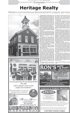 Looking to buy or sell your home this spring? Come check us out in this article written by the Cortland Standard! We provide high quality service ensuring a successful transaction. You can also come check us out at our website hometoheritage.com or our new app available on all smart phone devices!