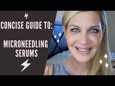 BEST Microneedling SERUMS + a protocol for the entire month after you needle! Hyaluronic Serum, Best Serum, Derma Roller, Cosmetic Procedures, Face Contouring, Healthy Skin Care, Medical Advice