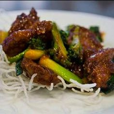 The Best Mongolian Beef Recipe!  Just like PF Changs