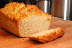 Homemade Beer Bread - ohmygosh. You need this in your life. It's amazing.