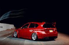 Slammed Subaru Impreza WRX STI  I always wanted one