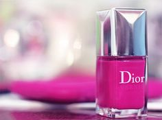 Pretty Painted Fingers| Toes Nail Lacquer| Serafini Amelia| Hot Pink-Dior