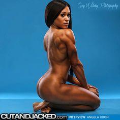Angela Okon http://www.cutandjacked.com/Angela-Okon-Interview