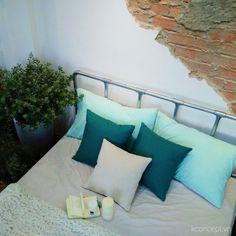 By Kconcept. Outdoor Sofa, Outdoor Furniture, Outdoor Decor, Vanilla, Concept, Interior Design, Studio, Bed, Home Decor