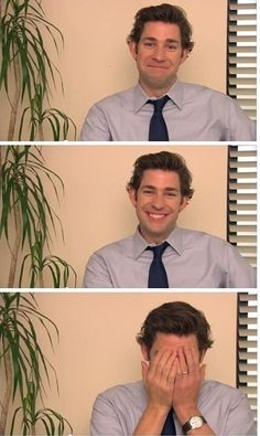 The Office - Jim Halpert (John Krasinski) John Krasinski, Pretty People, Beautiful People, The Office Show, The Office Jim, Office Tv, Netflix, Rasengan Vs Chidori, Office Memes